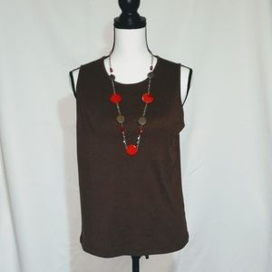 Cato Brown Tank Top